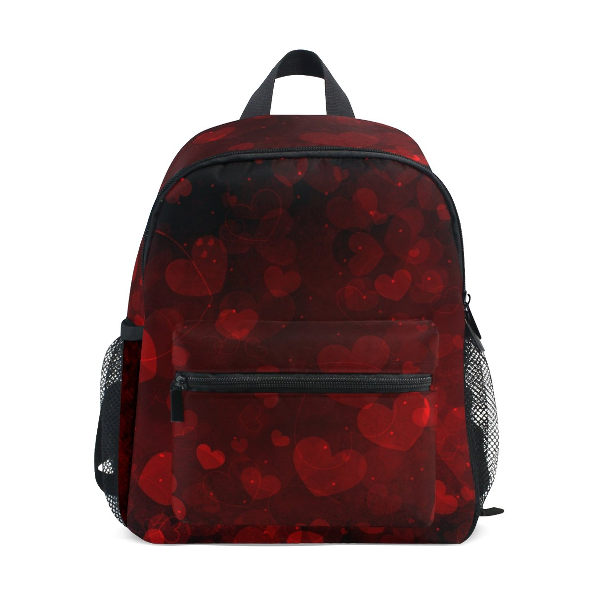 My Daily Kids Backpack Hearts Valentine's Day Wedding Nursery Bags for Preschool Children