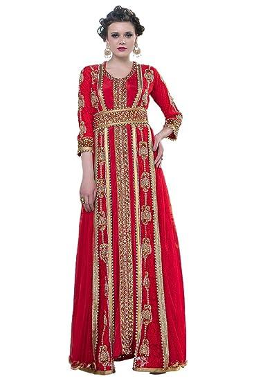 d74789dcf8 PalasFashion Kolkozy Fashion Women's Moroccan Style Wedding Dress ...
