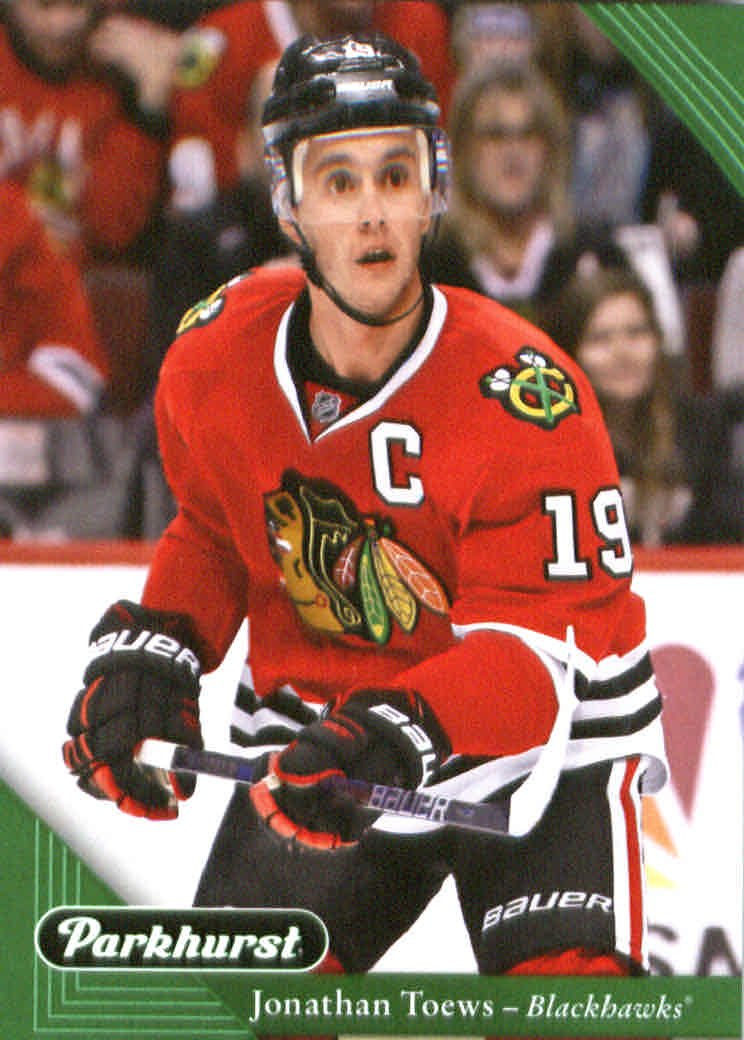 2017-18 Parkhurst Hockey  51 Jonathan Toews Chicago Blackhawks at Amazon s  Sports Collectibles Store f0354e9e7