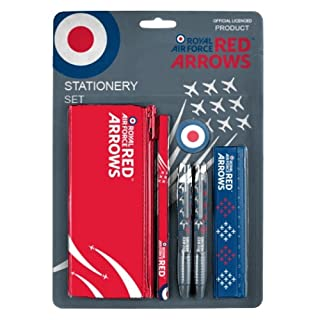 Royal Air Force Red Arrows 6 pezzi Stationery Set RA07
