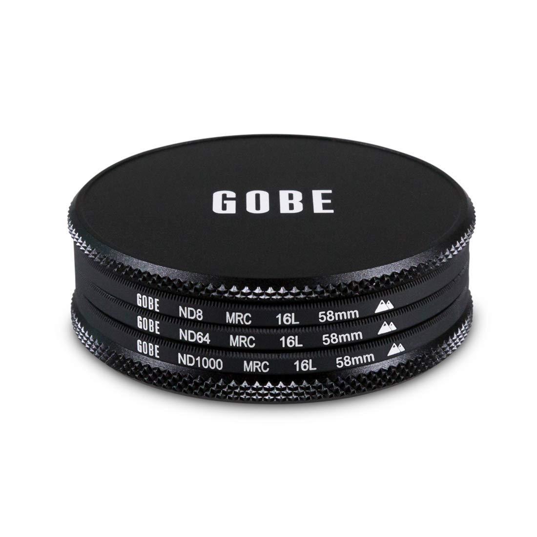 Gobe Kit Filtro ND 37mm MRC 16-strati: ND8 ND64 ND1000