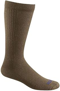 product image for Bates Men's Thermal Uniform Mid Calf Socks, Coyote Brown, L