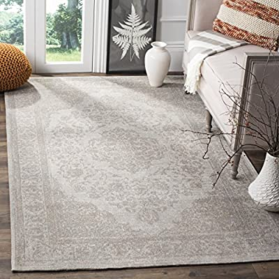 Safavieh Classic Vintage Collection CLV121A Beige Cotton Area Rug (9' x 12') - Stunning cotton fibers make this rug soft and luxurious to the touch The power loomed construction adds durability to this rug, ensuring it will be a favorite for many years This traditional, vintage rug will give your room an elegant accent - living-room-soft-furnishings, living-room, area-rugs - 618w27lH1cL. SS400  -