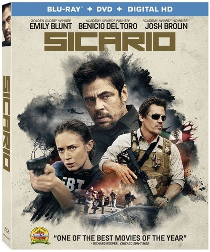 Blu-ray : Sicario (With DVD)
