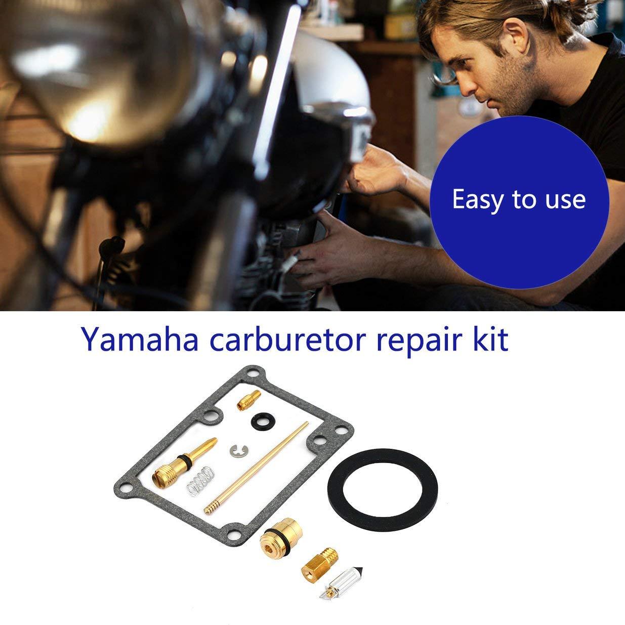 Negro Banbie8409 Nuevo Kit de Pieza de reparaci/ón de carburador//reconstrucci/ón de carburador para Yamaha Blaster 200 YFS200
