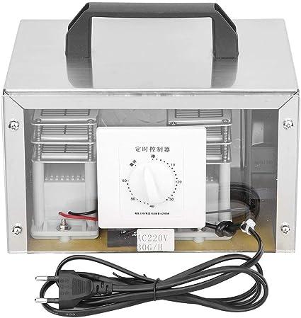 Zunate Generador de ozono, máquina de ozonizador de 250 W, 30 g/h ...