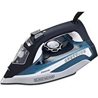 Black and Decker Appliances BD BXIR2401IN 2400-Watt Steam Iron with Auto-Shut Off and Ceramic Sole Plate Coating (Blue)