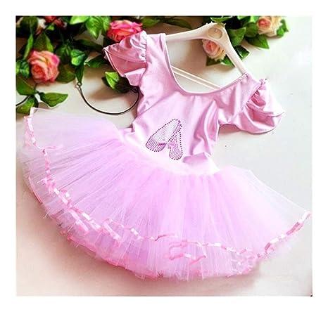 YLBHXC Baile Profesional Niñas Vestido De Ballet For Niñas De ...