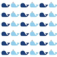 Tempaper Removable Wallpaper, Whales