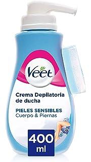 Veet for Men Crema Depilatoria para hombre - Piel normal ...