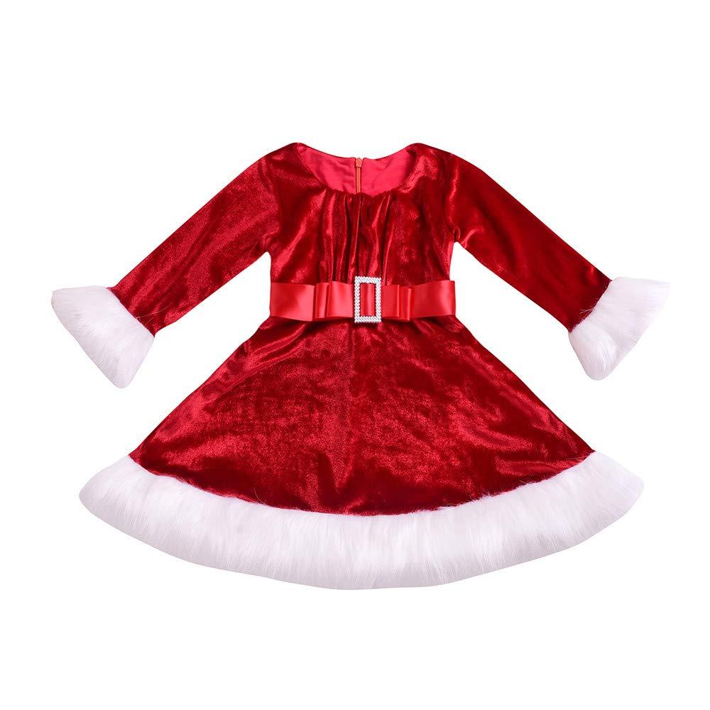 Jimmackey Neonata Bambine Denim Vestito Stampato Tutu Bowknot Principessa Abito