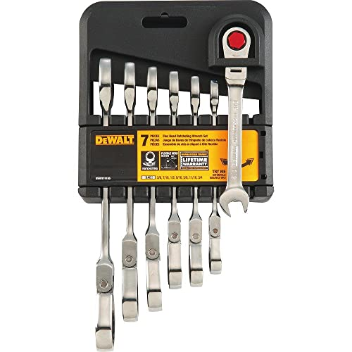 DeWalt DWMT74195 Ratcheting Flex Head 7 Piece