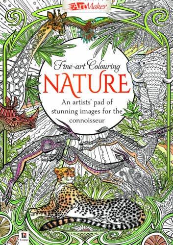 Download Fine Art Colouring: Nature (UK) (Art Maker) pdf