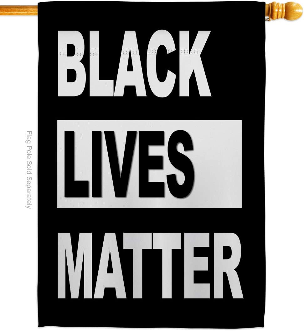 USA Made Black Lives Matter-Civil Rights Double-Sided Lawn Decoration Gift House Garden Yard Banner Revolution Movement Equality Social, Flag 28