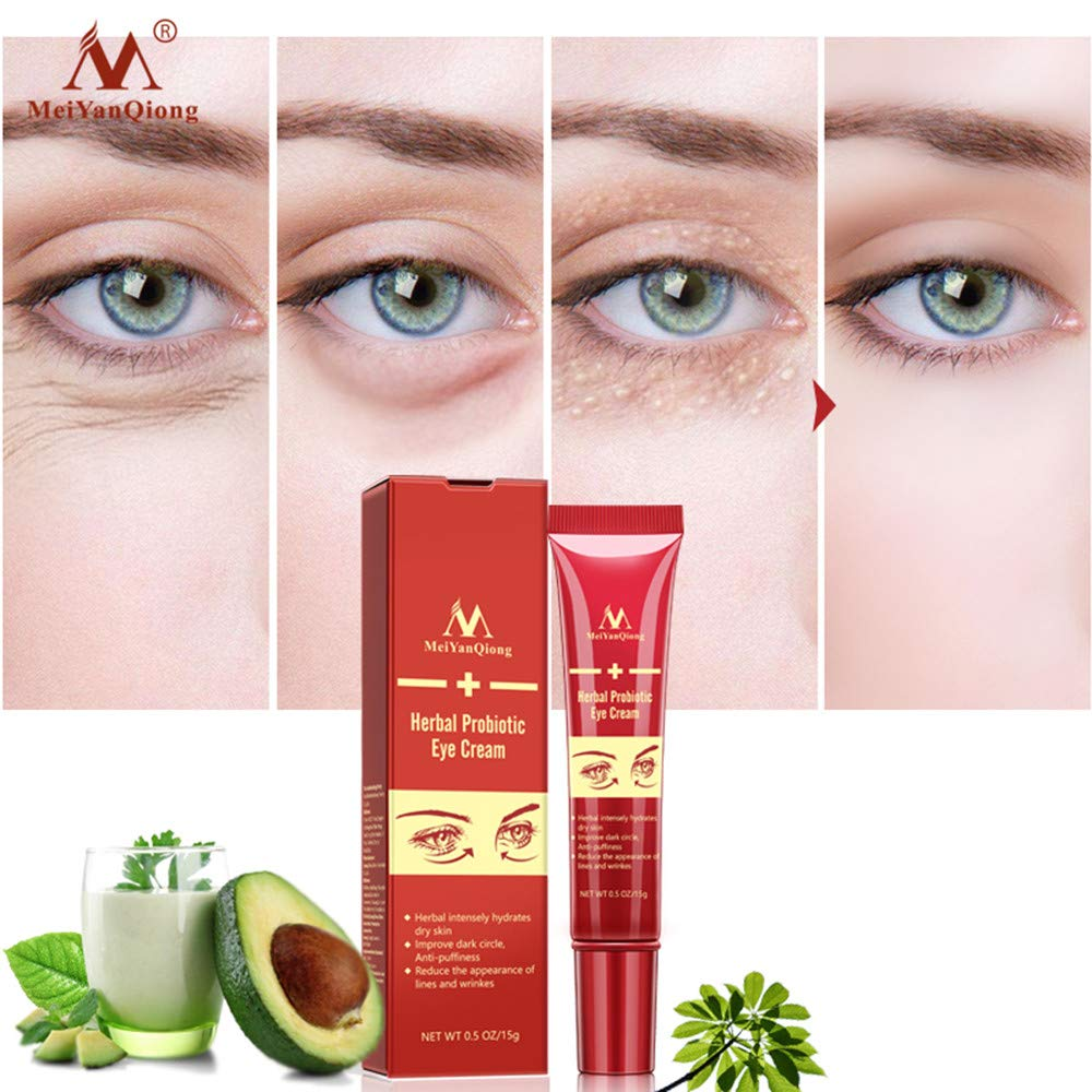Exteren Eye Cream Gel For Dark Circles Puffiness Wrinkles Bags Most Effective Anti-Aging Skin Care Accessories (Red) by Exteren (Image #4)