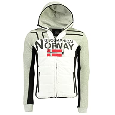 Geographical Norway Polos de Hombre GUMIX Men (S, Blended Grey ...