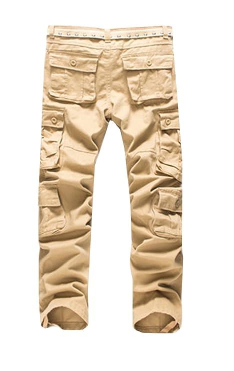 d02f286f87 DaBag Herbst Frühjahr Herren Grosse Grössen Arbeitshosen Culotte Multi-Tasche  Freizeit Boot-Cut Draußen Freizeithosen Pants: Amazon.de: Bekleidung