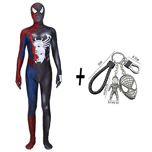 WEDSGTV Spiderman Cosplay Disfraz Super Venom Película Juego ...