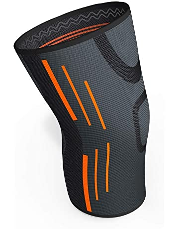 eacd946f93 KGONE Knee Support for Men and Women, Anti Slip Knee Brace Super Elastic  Breathable Compression