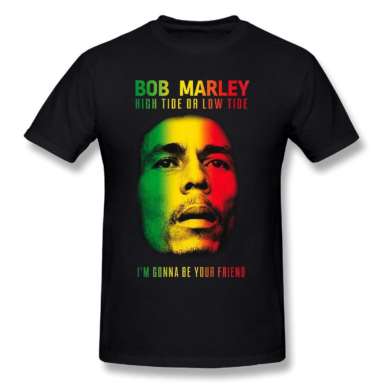 5ea9051e9 Amazon.com: Bob Marley Men's Good Music Hits T-Shirt: Clothing