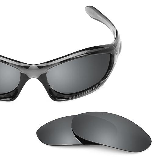 e999da5aa7 Revant Polarized Replacement Lenses for Oakley Monster Dog Elite Black  Chrome MirrorShield