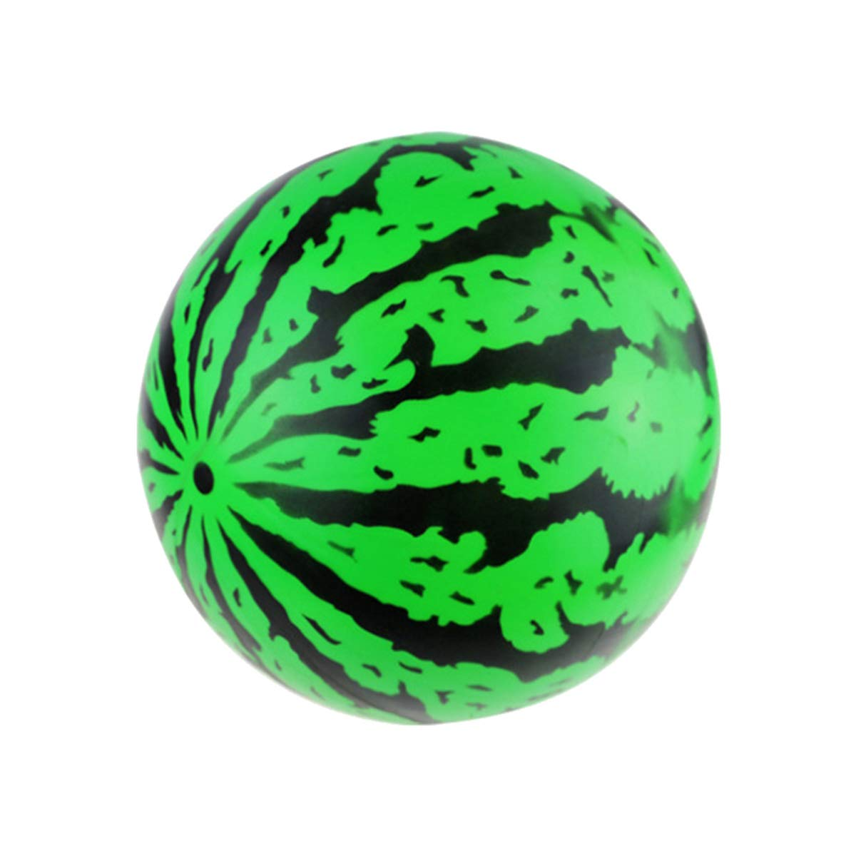 Green YeahiBaby 5PCS Inflatable Watermelon Ball Summer Beach Party Air Ball Swimming Pool Ball Toy for Kid Outdoor Game 22cm