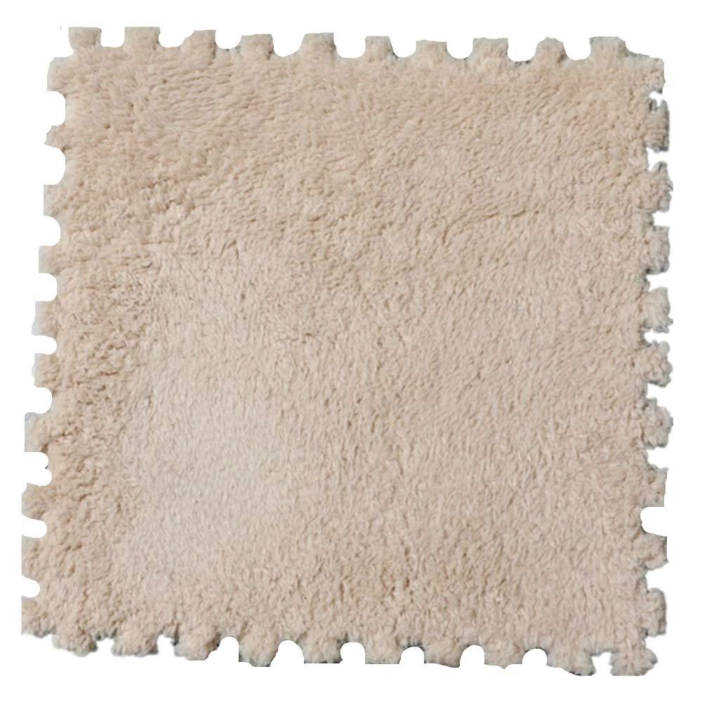 Morbuy Tapete de Mosaico Felpudos Alfombra Terciopelo de algodón Shu 31 * 31 cm Mats Pad para Habitación Lavable Decorativo (5 Piezas, Camello): Amazon.es: ...