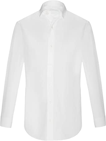 highlandstore.es - Camisa Blanca Manga Larga para Hombre ...