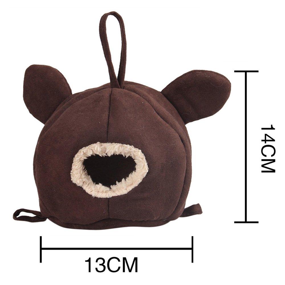 zuckerti NEU mela casa gabbie per animali huetten grotta amaca giocattolo per piccoli animali scoiattolo Chinchilla cavia ratto topi Hamster Hase kanichen