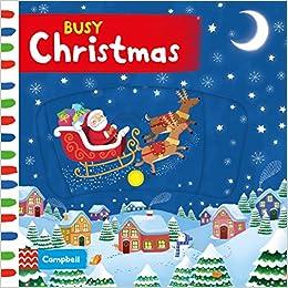Book's Cover of Busy Christmas (Busy Books) (Inglés) Libro de cartón – 6 octubre 2016