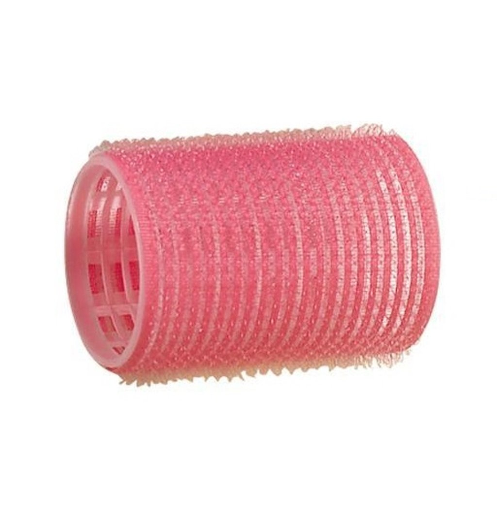 Comair rulos (Velcro, 44mm Rosa 12bolsas Kopfart 3011891