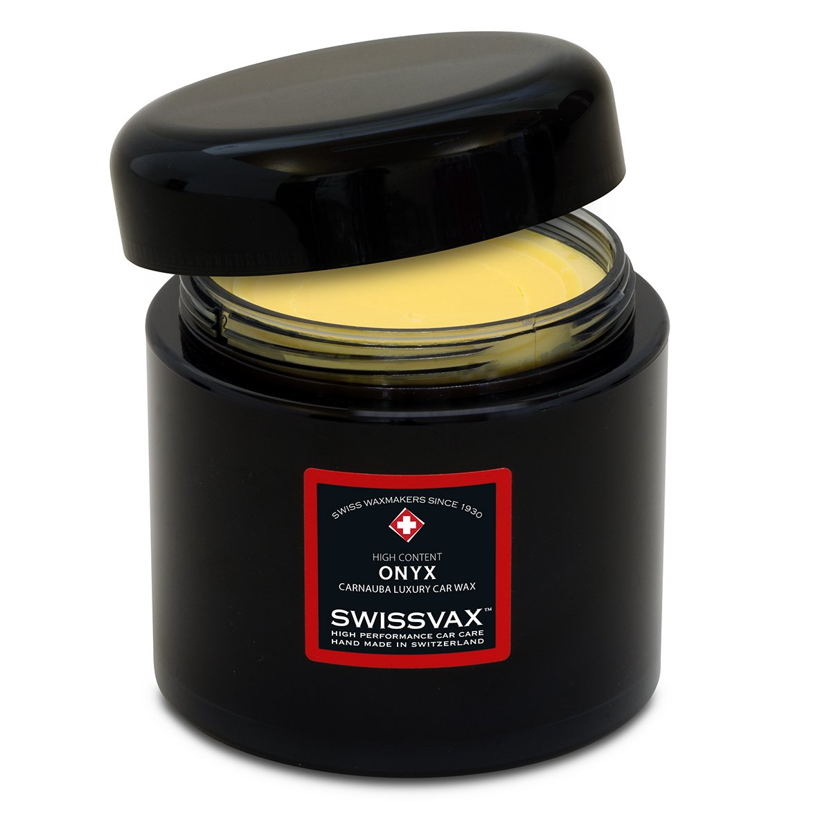 swizö l Swiss Vax Onyx Cire, 200 ml + 2 x Applicateur gratuit Pad S 200ml + 2x Applicateur gratuit Pad S Swizöl/Swissvax