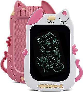 Tenol Mädchen Spielzeug Für 3 Jahre Altes Zeichenbrett Mädchen Geschenke Ab 6 Schreibtafel Für 4 5 Jahre Altes Kindegeschenk Für Mädchen Alter 3 6 Pink Haustier