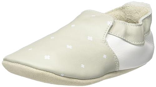 Bobux Hellgrün mit weißen Kreuzen, Mocasines para Bebés, (Grün), M: Amazon.es: Zapatos y complementos