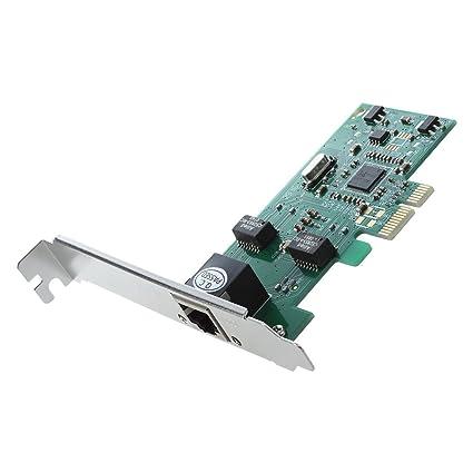 TOOGOO(R) PCI Express 10/100/1000M Gigabit Ethernet Tarjeta controlador de ordenador escritorio de red LAN