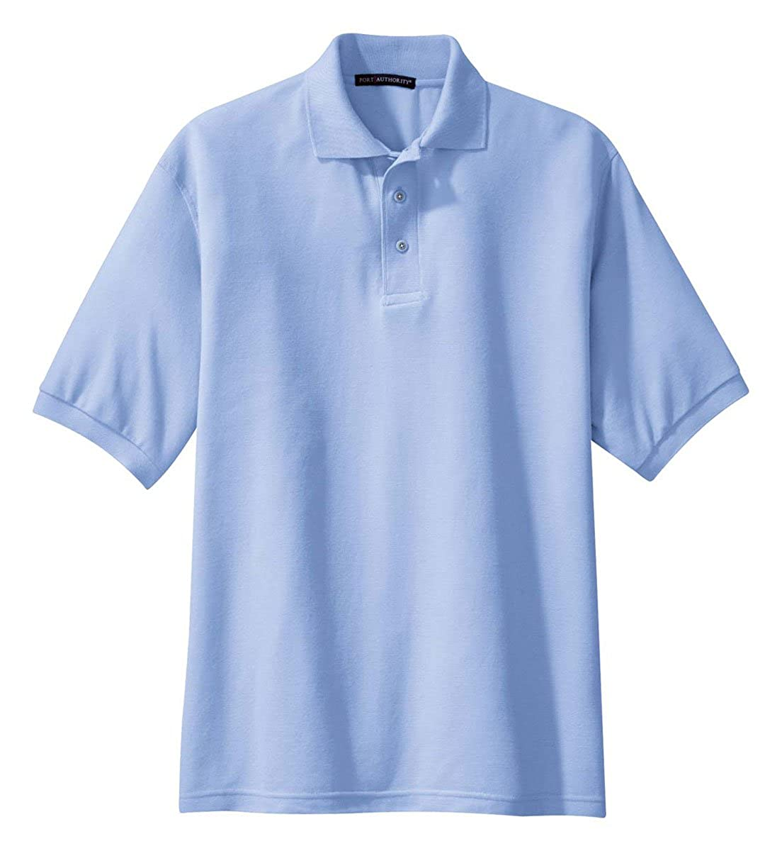 Port Authority Silk Touch Polo K500 Light Blue XS