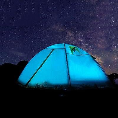 2 personnes tente de camping double tente extérieure automatique imperméable à l'épreuve de la pluie pour Camping 2000-3000 Mm Oxford Camping équipement d'escalade Tente