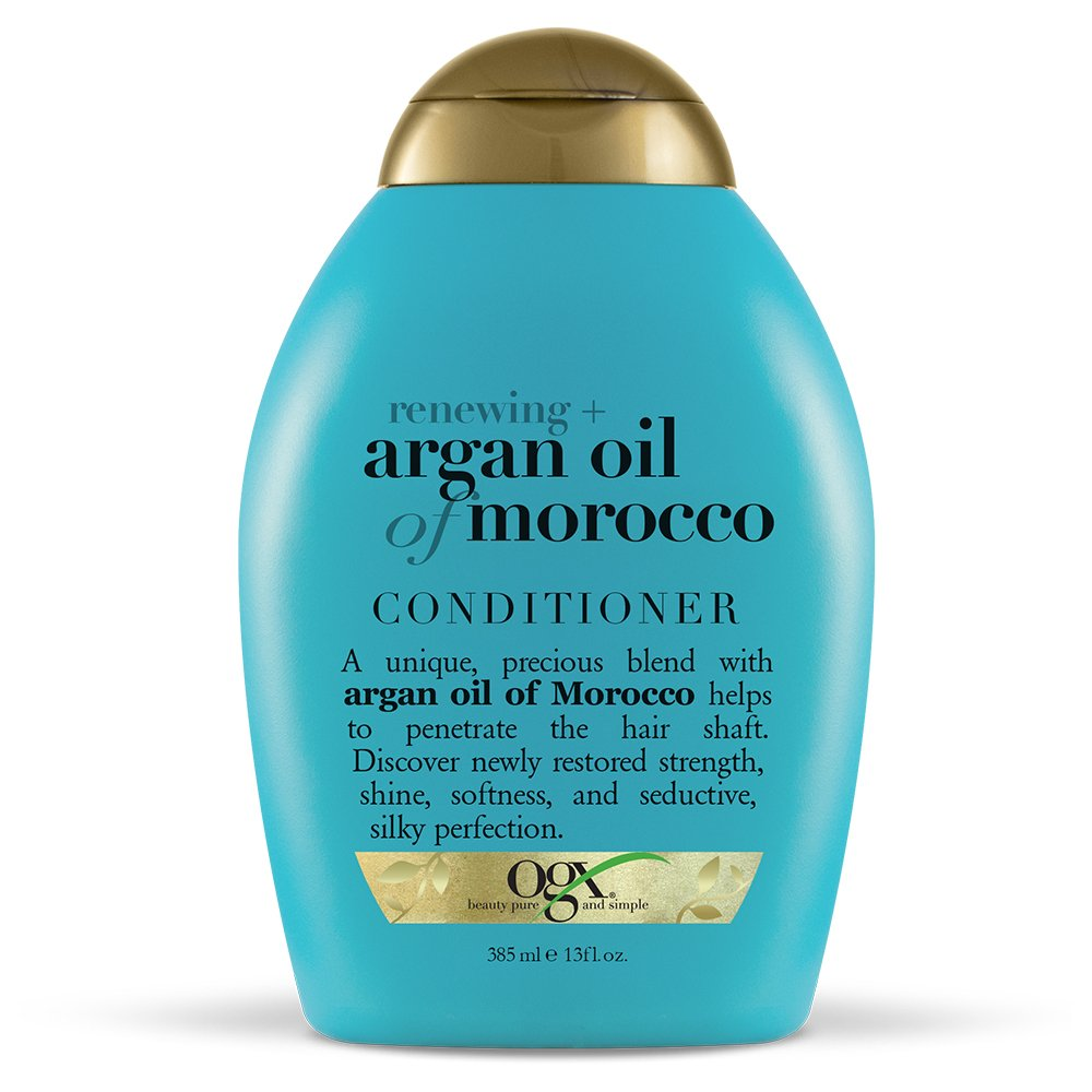 Ogx Renewing Argan Oil Of Morocco Conditioner, (1) 13 Ounce Bottle, Paraben Free, Sulfate Free, Sustainable Ingredients,... by Ogx
