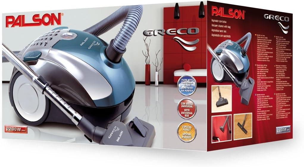 Palson 30552 Greco-Aspirador con Bolsa (2200 W, 220-240 V, Filtro ...