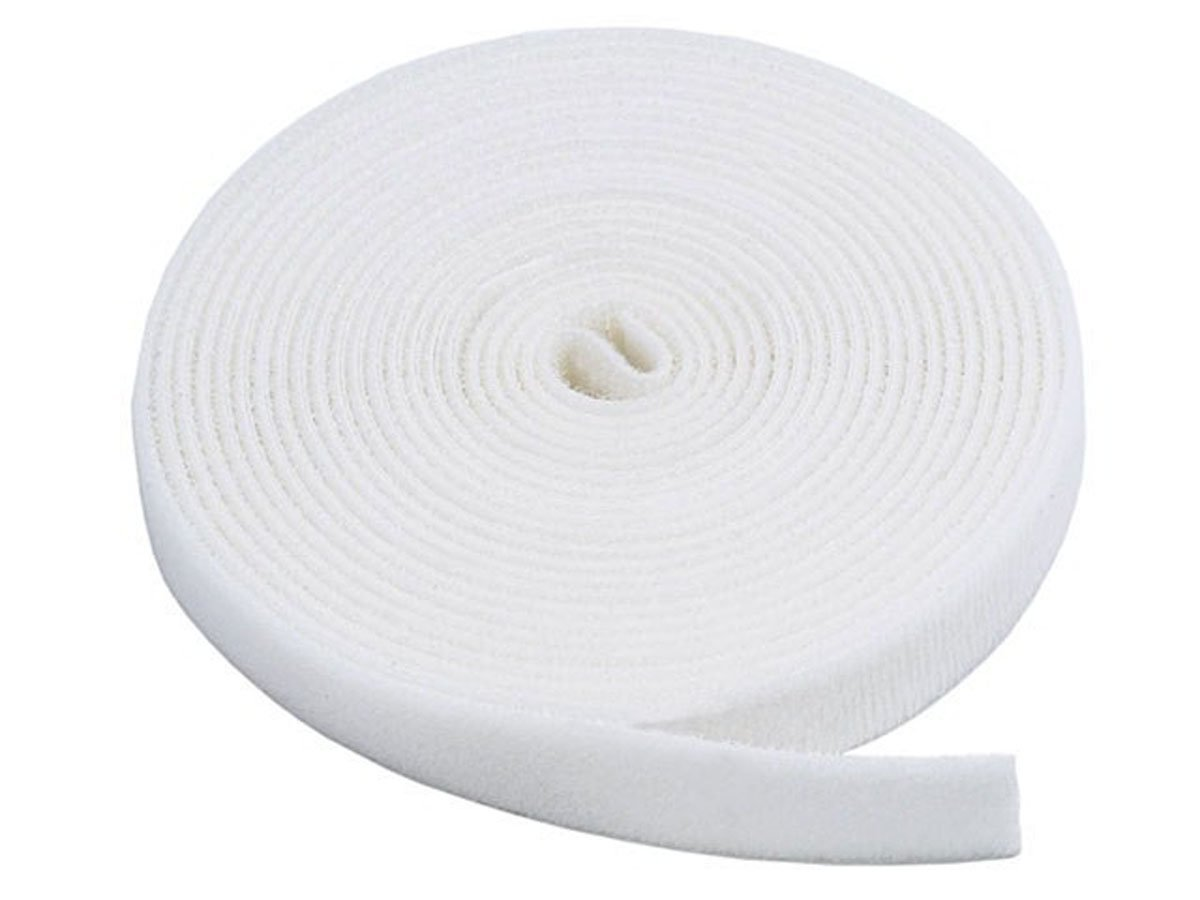 VELCRO® Brand Hook and loop ONE-WRAP® back to back Strapping in WHITE 1CM Wide X 50CM Long VELCRO®