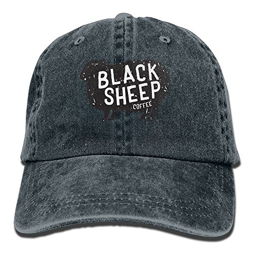 Get To Black Sheep Coffee Classic Adjustable Plain Cap Top Level Low Profile Polo Western Child Style A Cowboy Hat