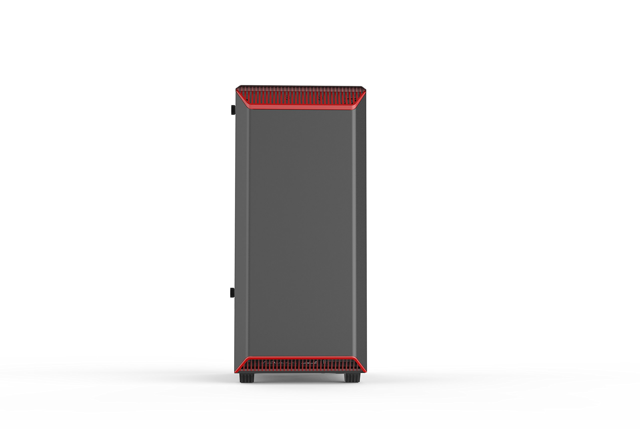 Phanteks PH-EC300PTG_BR Eclipse P300 Tempered Glass Steel ATX Mid Tower Case Black/Red by Phanteks (Image #3)