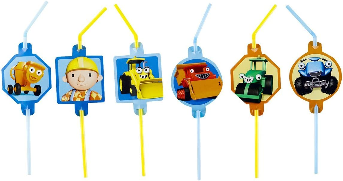 Pack of 8 Bob The Builder Blowout
