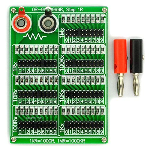 Decade Capacitor (Electronics-Salon 1R - 9999999R Seven Decade Programmable Resistor Board, Step 1R, 1%, 1/4W.)