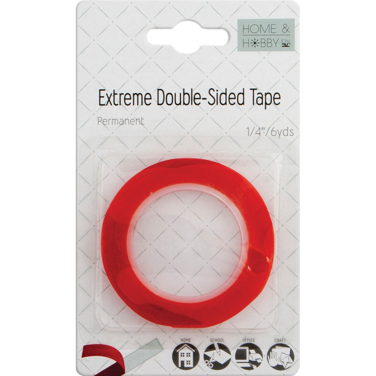 Double sided craft tape - Amazon Com Home Hobby Extreme Double Sided Tape 1 4 Inch Arts Crafts Sewing