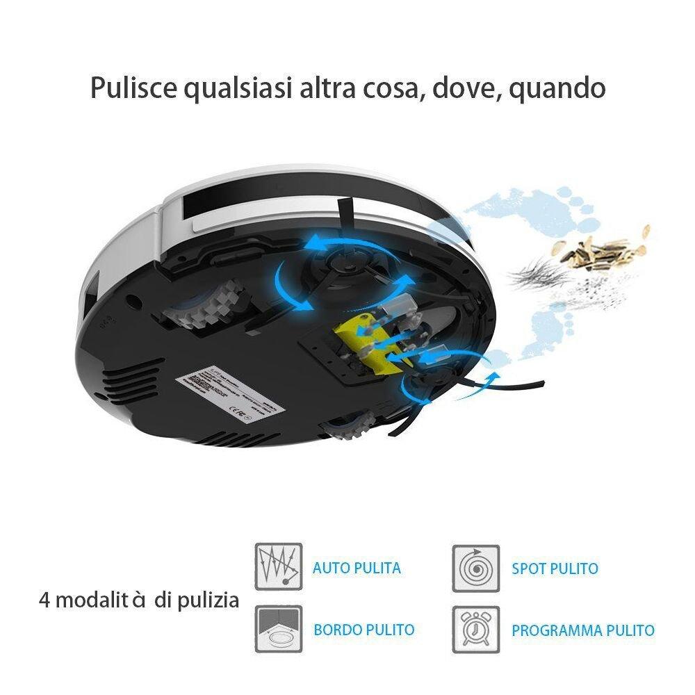 iLife V3S Pro vacío robot limpiador 2017 versión M2 C, blanco perla: Amazon.es: Hogar