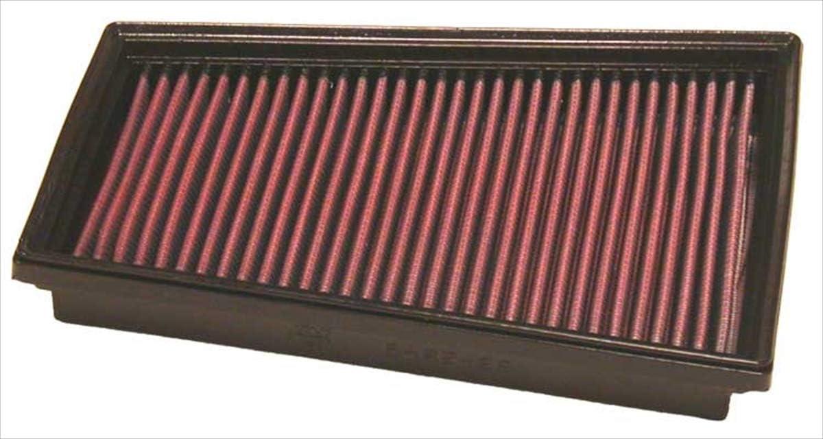 K&N 33-2849 Filtro de Aire Coche, Lavable y Reutilizable: Amazon.es: Coche y moto