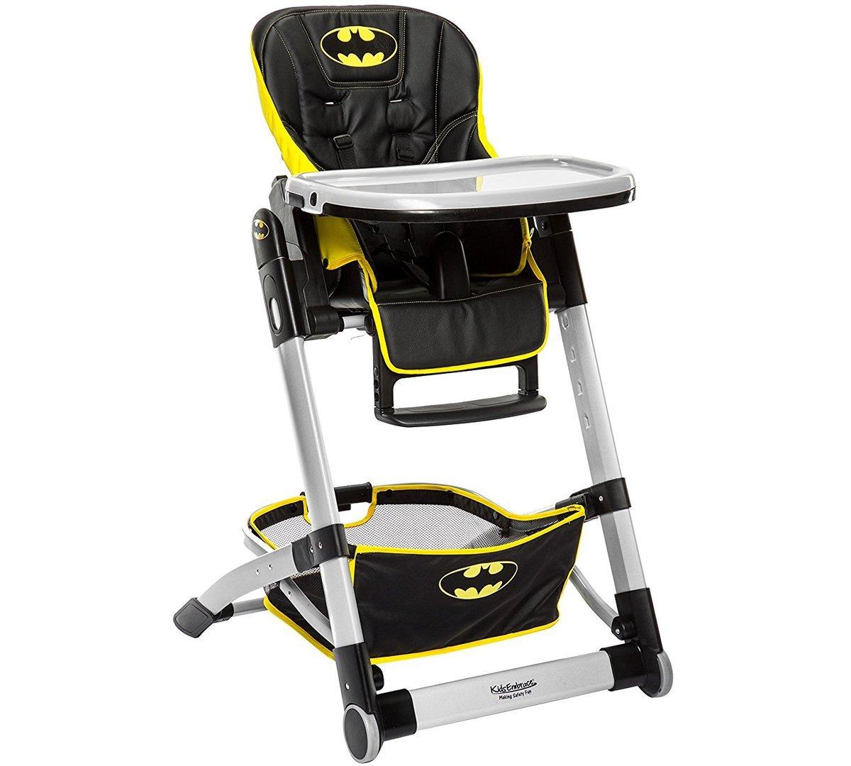 KidsEmbrace DC Comics Batman Deluxe High Chair 6601BATCAN