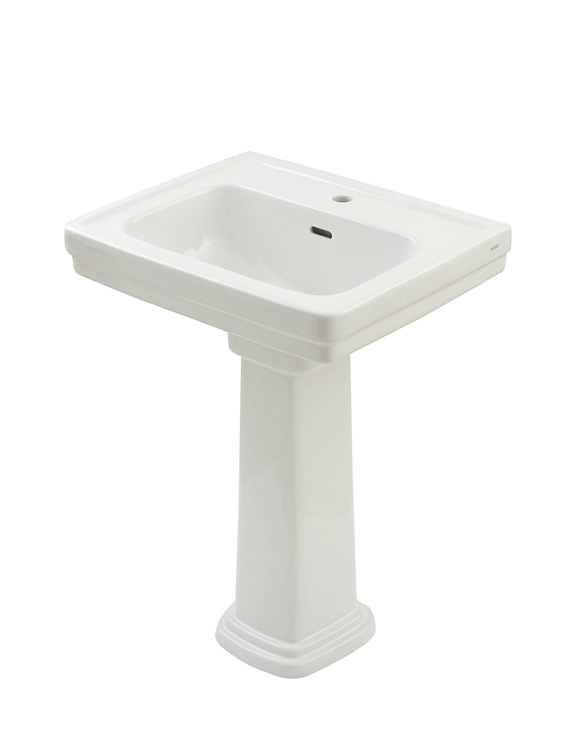 TOTO LPT532.8N#01 Promenade Lavatory and Pedestal with 8-Inch ...