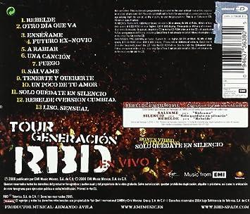 Tour Generacion Rbd En Vivo: Rbd: Amazon.es: Música